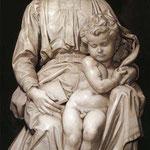 Virgen con el Niño o Virgen de Brujas -Brujas, Notre-Dame.