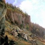 Krajobraz z Ojcowa-Głowacki, Jan Nepomucen 1802-1847