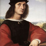 Raffaello - Portrait of Agnolo Don