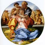 La Sagrada Familia con el niño y San Juan el Bautista.