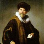 Rembrandt - Portrait of Nicolaes Ruts [1631]