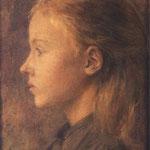 Glowa dziewczynki-Wyspianski, Stanislaw  1869-1907