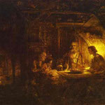 Rembrandt - Philemon and Baucis