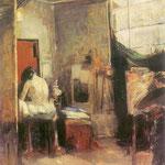 W pracowni-Boznanska, Olga 1865-1940