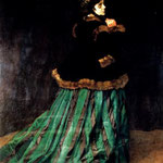 Woman In A Green Dress.