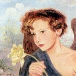 Aniol z tulipanem-Hofman, Vlastimil 1881-1970