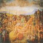 Crucifixión de San Pedro.