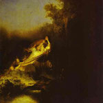 Rembrandt - The Abduction of Proserpine