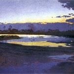 Wisla pod Niepolomicami-Mehoffer, Józef  1869-1946