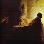 Rembrandt - Pilgrims at Emmaus