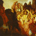Rembrandt - The Martyrdom of St. Stephen