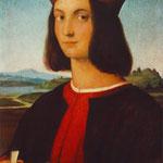 Raffaello - Portrait of Pietro Bembo