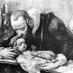 Jan Kochanowski nad zwlokami Urszulki (szkic)-Matejko, Jan 1838-1893