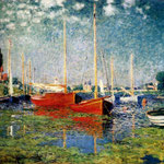 The Red Boats Argenteuil.