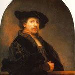 Rembrandt - Self-Portrait [1640]