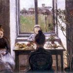 Kwiaciarki-Boznanska, Olga 1865-1940