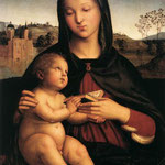 Raffaello - Madonna and Child