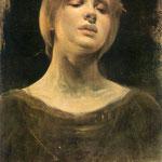 Studium do obrazu Laudamus feminam-Zmurko, Franciszek  1858-1910