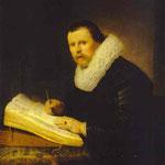 Rembrandt - A Scholar