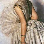 Portret narzeczonej - Marii Gralewskiej-Malczewski, Jacek 1854-1929