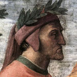 Raffaello - Stanze Vaticane - The Parnassus (detail) [07]
