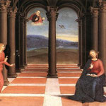 Raffaello - The Annunciation