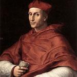 Raffaello - Portrait of Cardinal Bibbiena