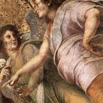 Raffaello - Stanze Vaticane - La Disputa (detail) [08]
