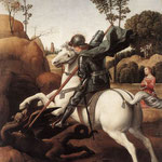 Raffaello - St George and the Dragon