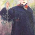 Chlopiec z kwiatem-Wyspianski, Stanislaw  1869-1907