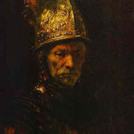 Rembrandt - Man in a Gold Helmet