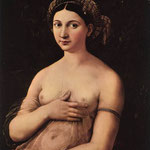 Raffaello - Portrait of a Young Woman (La Fornarina)