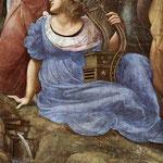 Raffaello - Stanze Vaticane - The Parnassus (detail) [03]