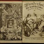 PORTADA DEL VOLUMEN III DE DES KNABEN WUNDERHORN (1808)