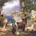 Taniec wsród mieczów-Siemiradzki, Henryk  1834-1902