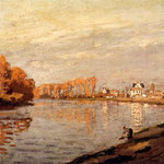 The Seine At Argenteuil.