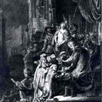 1635 Christ Devant Pilate Et Le Peuple,bnf