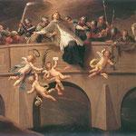Meczenstwo sw. Jana Nepomucena (fragment)-Czechowicz, Szymon 1689-1775