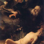 1635le Sacrifice D Isaac,st Petersbourgh