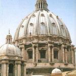 Cúpula de la Basílica de San Pedro.