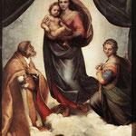 Raffaello - The Sistine Madonna