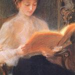 Czytajaca-Axentowicz, Teodor 1859-1938