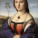 Raffaello - Portrait of Maddalena Don