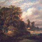 Krajobraz lesny-Gierymski, Maksymilian 1846-1874