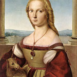 Raffaello - Lady with a Unicorn