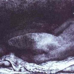 Rembrandt - Woman Lying Down