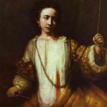 Rembrandt - Lucretia