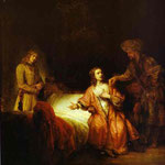 Rembrandt - Joseph Accused by Potiphar's Wife