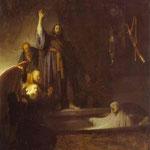 Rembrandt - The Raising of Lazarus