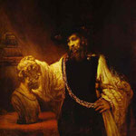 Rembrandt - Aristotle Before the Bust of Homer